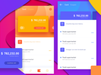 the UI of Some financial interface for @Fanny