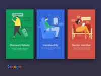 the splashpage of Google travel
