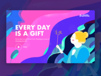 Every day  is a gift,Abstract illustration