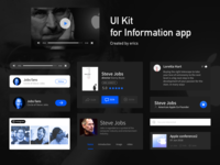 Artboard 3UI Kit for Information app