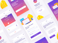 UI for  invitation system app By RDD