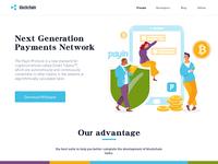 homepage of blockchain