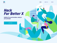 Hack For Better X illustration