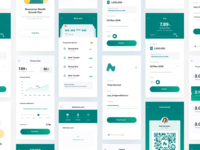 Financial APP UI interface