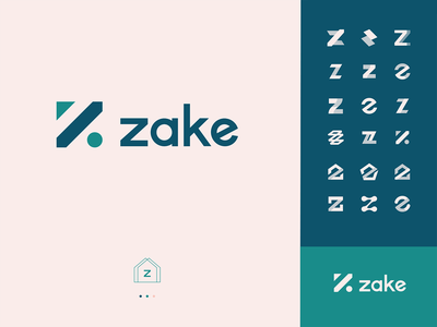 zake logo branding web ui vector graphic illustration colors logo