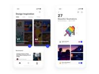 Inspiration library app