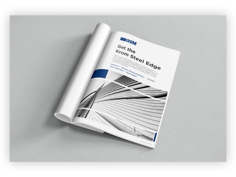 Krom Brochure branding identity marketing brochure brand design