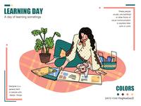 Learning Day-慵懒的周末