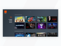 TV app - home