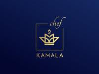 Kamala chef logo