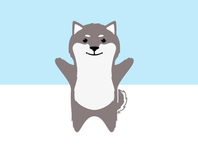 Shiba Mascot illustrator mascot dog illustration