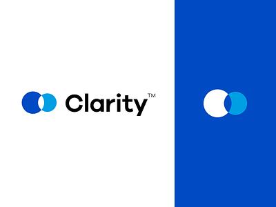 Clarity Logo Design brand and identity typography branding graphic design icon design logotype logo identity design brand design logo design