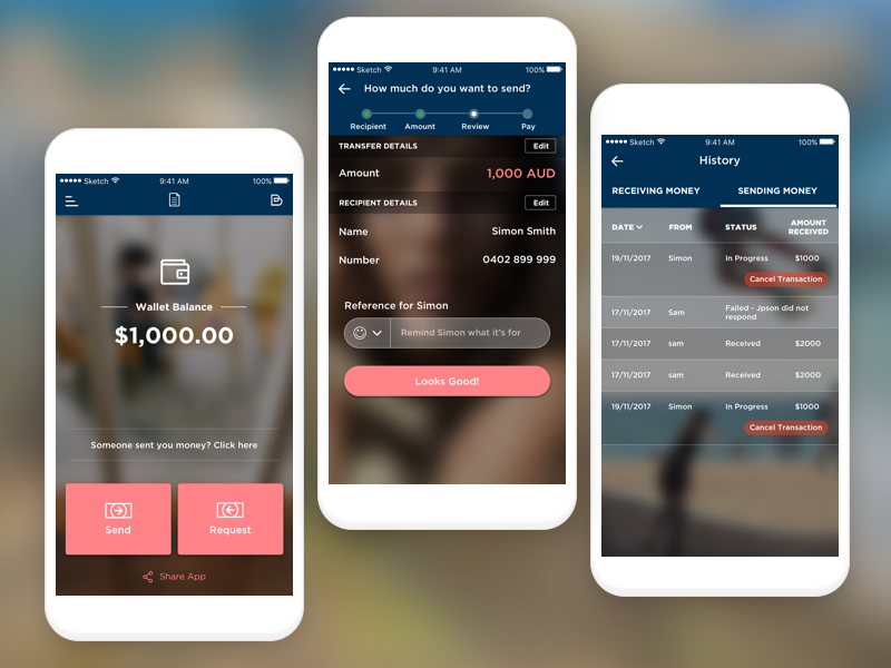 Billi Payment Transfer App by InnoApps Technologies on Dribbble