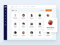 Dashboard web design