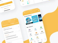YellowCap's new iOS home screen