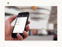 Tripnotes is almost here!