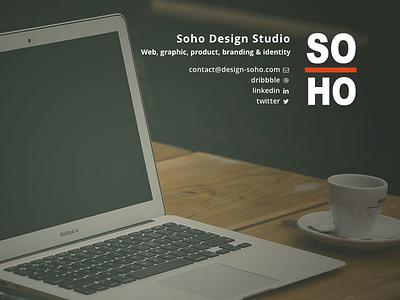 Soho Website web design responsive css design corporative studio