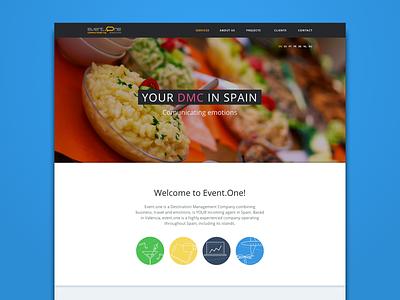 Event.One website responsive web design events