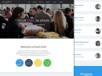 Event.One website