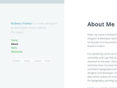 Portfolio v2.0 portfolio web design responsive personal designer