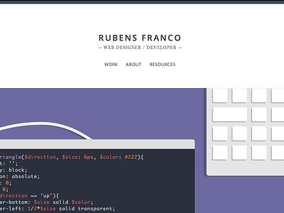 Portfolio redesign portfolio web design responsive personal designer