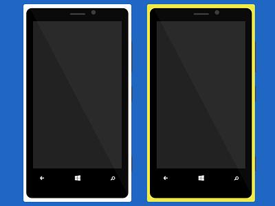 Nokia Lumia 920 vectorial mobile mockup lumia nokia