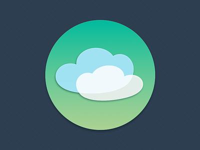 Clouds icon icon vector sketch app cloud