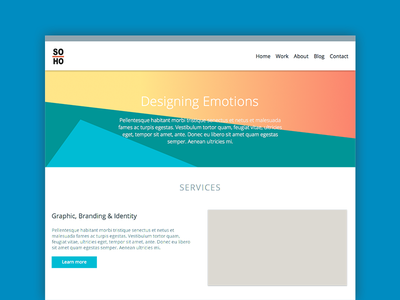Soho mockup mockup responsive web design services studio