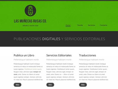Las Munecas Rusas Ed. Website