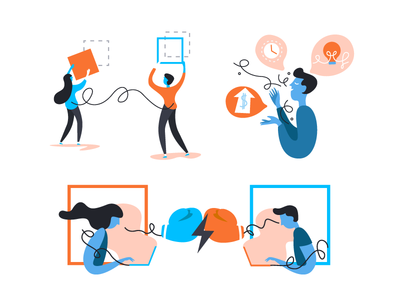 Fill and Stroke character guru battle ideas speaking coaching design event illustration