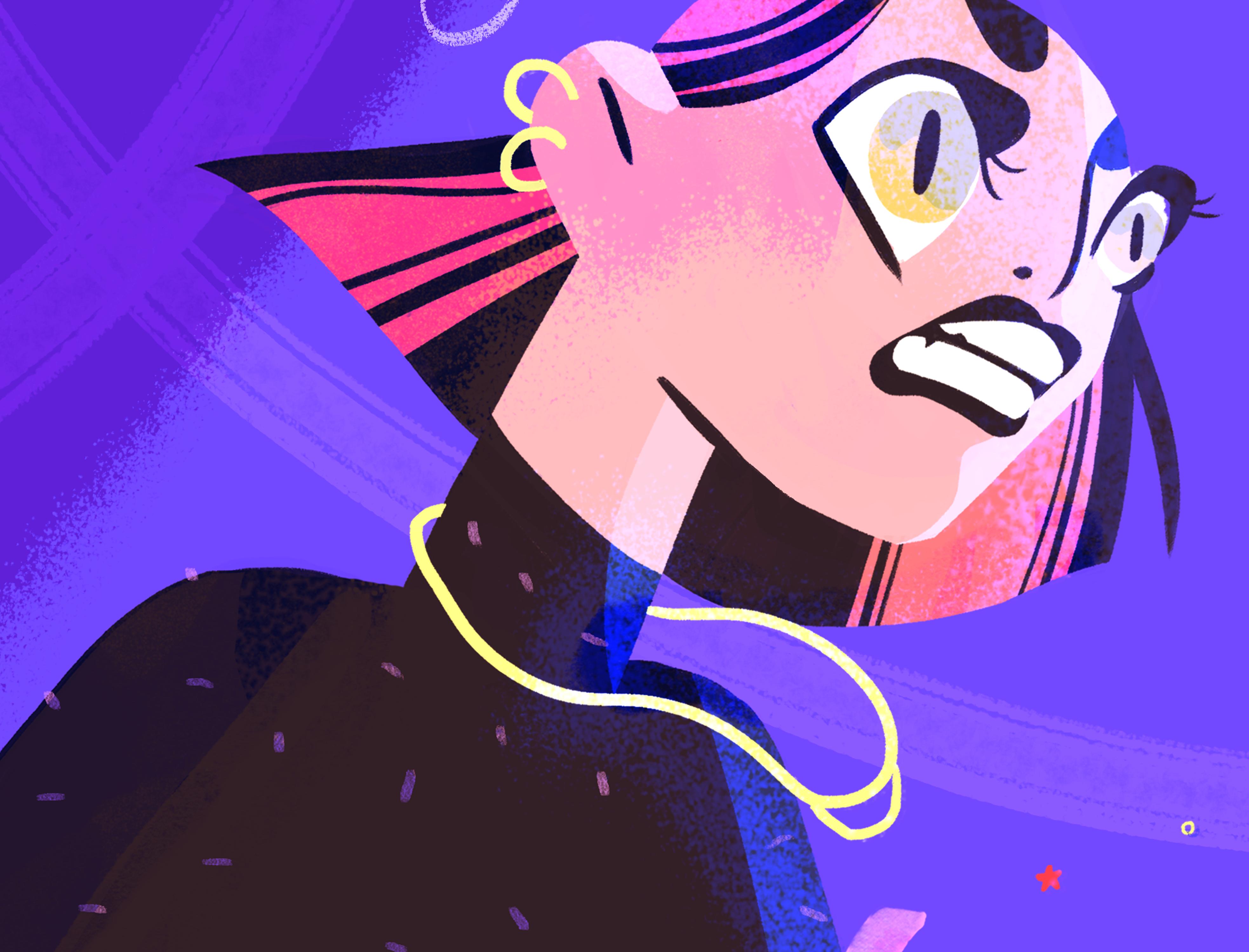 Rage closeup