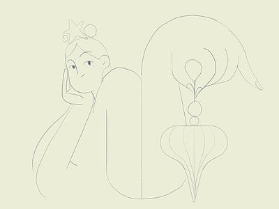 Holiday fashion 🎄 holidays holiday christmas girl product flat design character illustration