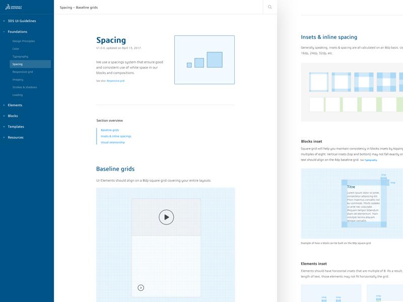 Dassault - Design guidelines interface user templates ui guidelines