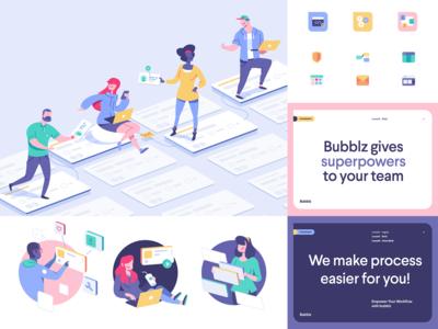 bubblz | branding exploration
