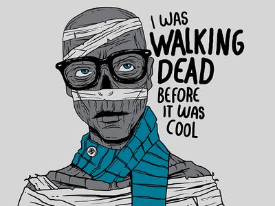 Hipster mummy