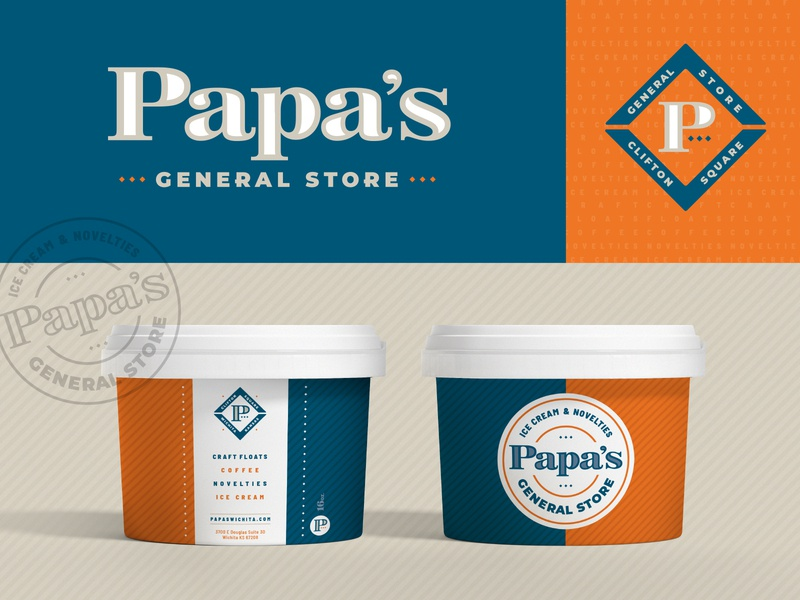 Papa's General Store nostalgic seal cups craft floats local papa stores novelties icecream general store store design