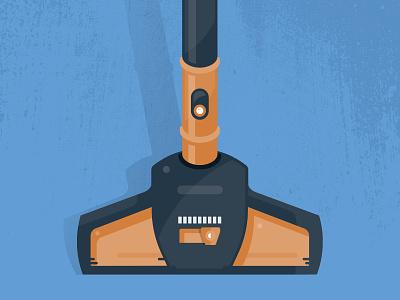 Sweeper event design illustration art appliance gadget vacuum up inforgraphic diagram sweeping illustration sweeper