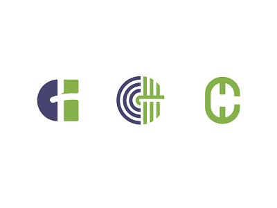 3 C H shapes logo type typedesign study fonts type art typeface