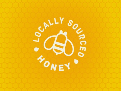 RCB Locally Sourced Honey sourced local drip bees bee honey beer brewery brew