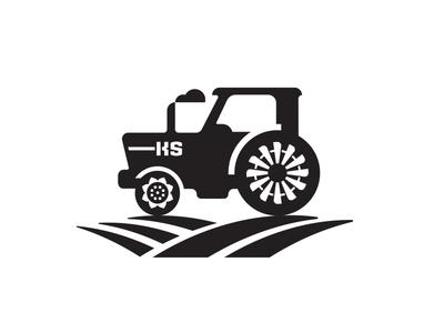 KSTractor drive equipment tractor tractors moving kansas cloud windmill wind flower sun plow