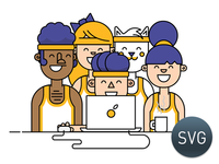 Teams - Animated SVG