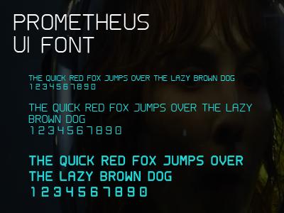 Dribblle prometheus font
