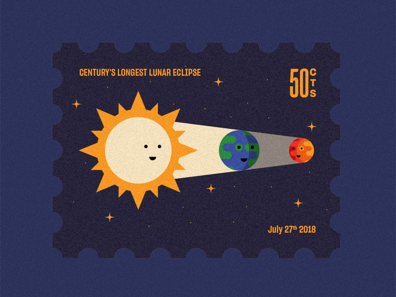 Lunar eclipse 2018 sun earth space moon lunareclipse