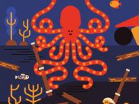 OctoMamma, my friend from deep seas 🐙