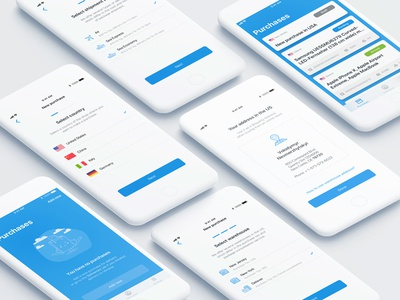 Delivery App: Add New Purchase Flow