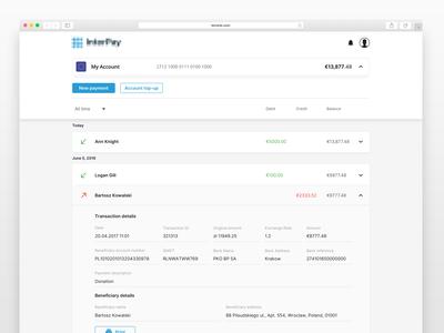 Minimalistic Web Wallet