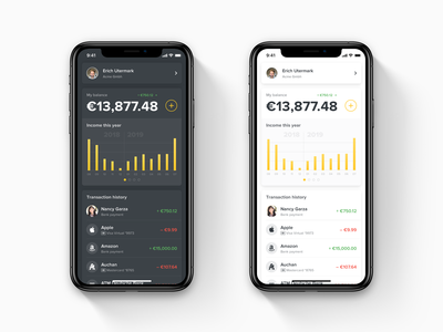 Mobile Wallet Homepage Concept