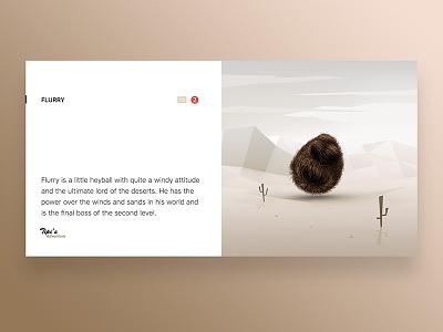 Tipi's Adventure Character Concept model design app ui ux