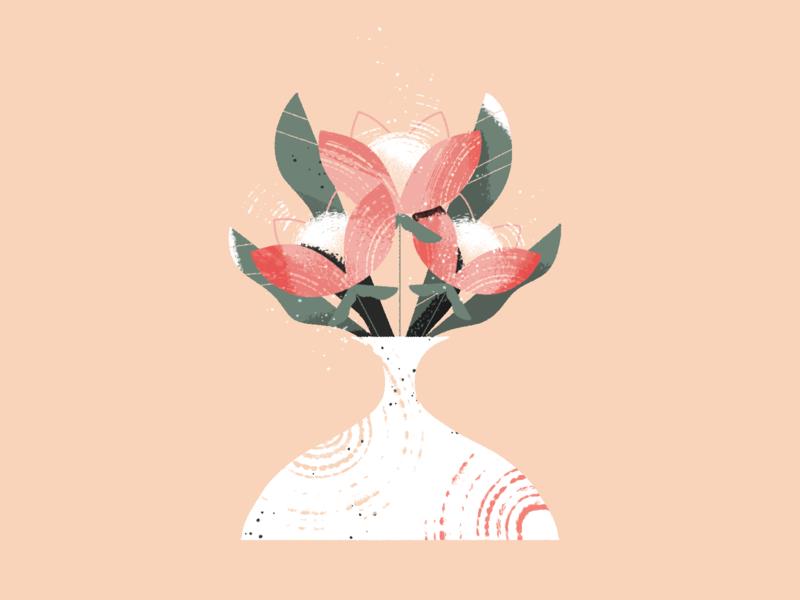 Mother's Day design illustration plants flower illustration photoshop flowers mothersday mother