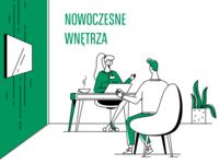 Modern interior - BGŻ BNP Paribas